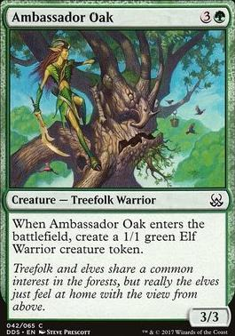 Duel Decks: Mind Vs. Might: Ambassador Oak