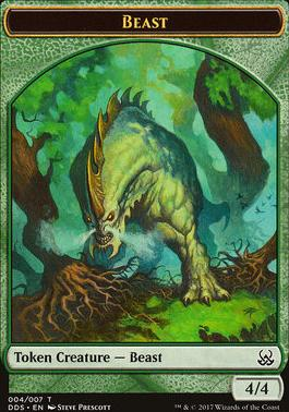 Duel Decks: Mind Vs. Might: Beast Token