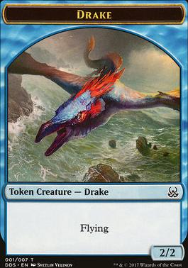 Duel Decks: Mind Vs. Might: Drake Token