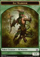 Duel Decks: Mind Vs. Might: Elf Warrior Token