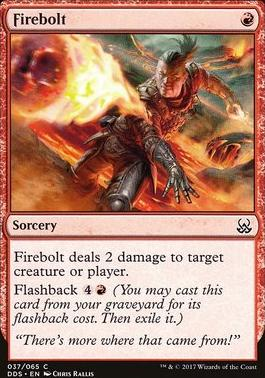 Duel Decks: Mind Vs. Might: Firebolt