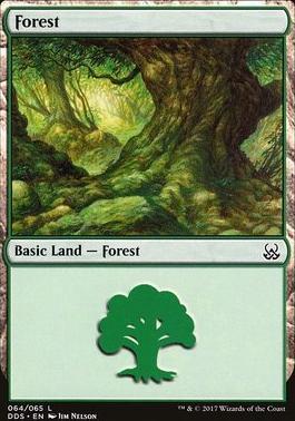 Duel Decks: Mind Vs. Might: Forest (64 B)