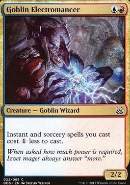 Duel Decks: Mind Vs. Might: Goblin Electromancer