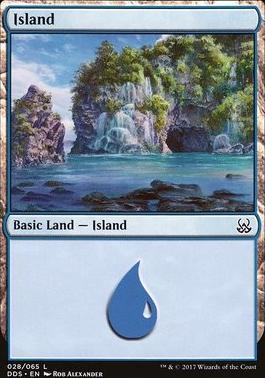 Duel Decks: Mind Vs. Might: Island (28 A)