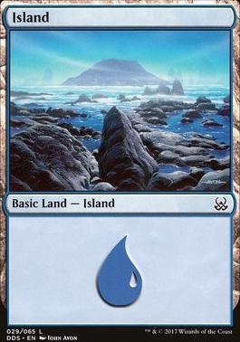 Duel Decks: Mind Vs. Might: Island (29 B)