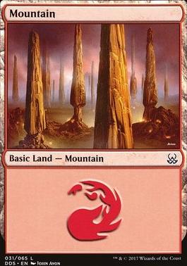 Duel Decks: Mind Vs. Might: Mountain (31 A)