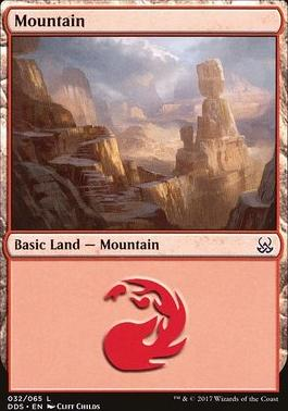 Duel Decks: Mind Vs. Might: Mountain (32 B)