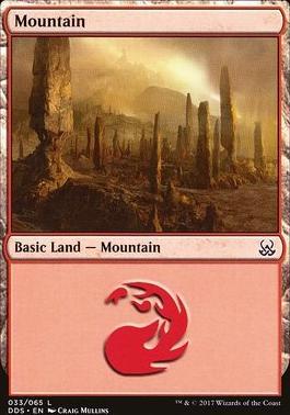 Duel Decks: Mind Vs. Might: Mountain (33 C)