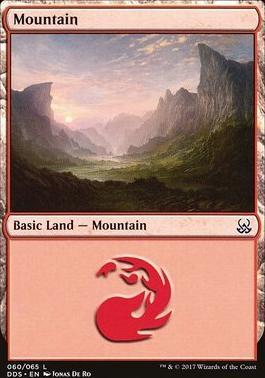 Duel Decks: Mind Vs. Might: Mountain (60 D)