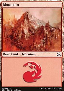 Duel Decks: Mind Vs. Might: Mountain (61 E)