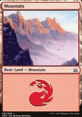 Duel Decks: Mind Vs. Might: Mountain (62 F)