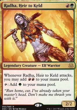 Duel Decks: Mind Vs. Might: Radha, Heir to Keld