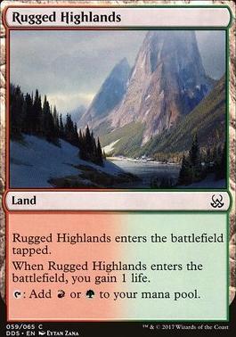 Duel Decks: Mind Vs. Might: Rugged Highlands