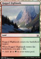 Duel Decks: Mind Vs. Might: Rugged Highlands