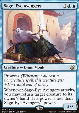 Duel Decks: Mind Vs. Might: Sage-Eye Avengers