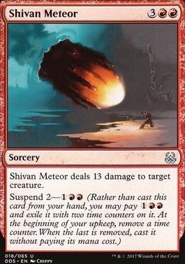 Duel Decks: Mind Vs. Might: Shivan Meteor