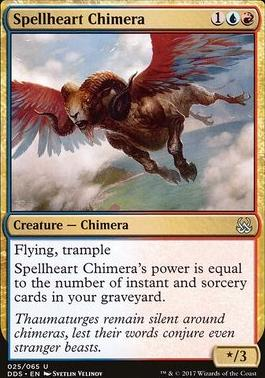 Duel Decks: Mind Vs. Might: Spellheart Chimera