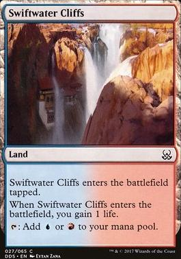 Duel Decks: Mind Vs. Might: Swiftwater Cliffs