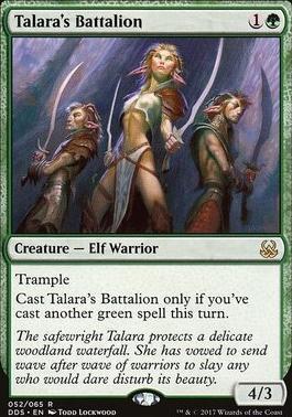 Duel Decks: Mind Vs. Might: Talara's Battalion