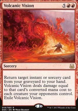 Duel Decks: Mind Vs. Might: Volcanic Vision