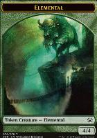 Duel Decks: Nissa Vs. Ob Nixilis: Elemental Token