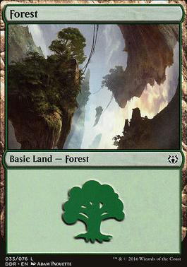 Duel Decks: Nissa Vs. Ob Nixilis: Forest (33 C)