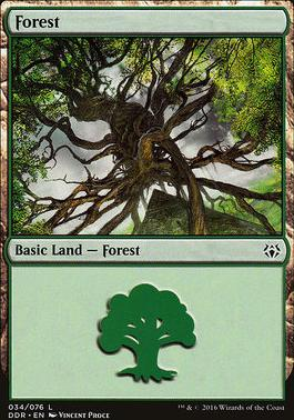 Duel Decks: Nissa Vs. Ob Nixilis: Forest (34 D)