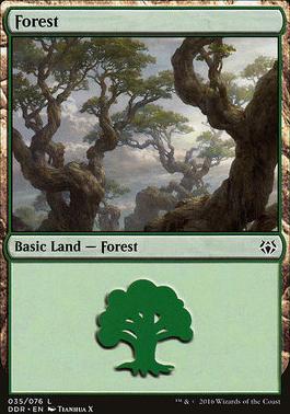 Duel Decks: Nissa Vs. Ob Nixilis: Forest (35 E)