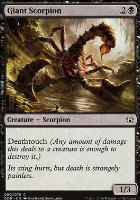 Duel Decks: Nissa Vs. Ob Nixilis: Giant Scorpion