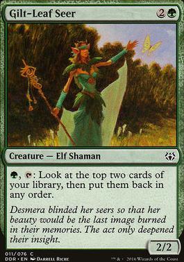 Duel Decks: Nissa Vs. Ob Nixilis: Gilt-Leaf Seer