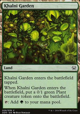 Duel Decks: Nissa Vs. Ob Nixilis: Khalni Garden