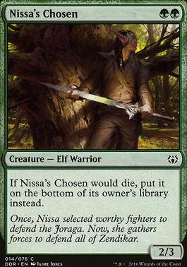 Duel Decks: Nissa Vs. Ob Nixilis: Nissa's Chosen
