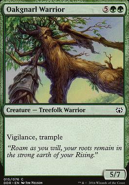 Duel Decks: Nissa Vs. Ob Nixilis: Oakgnarl Warrior