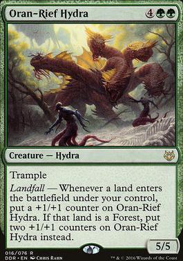 Duel Decks: Nissa Vs. Ob Nixilis: Oran-Rief Hydra