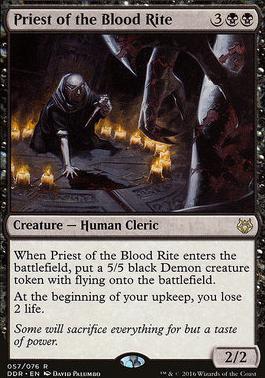 Duel Decks: Nissa Vs. Ob Nixilis: Priest of the Blood Rite