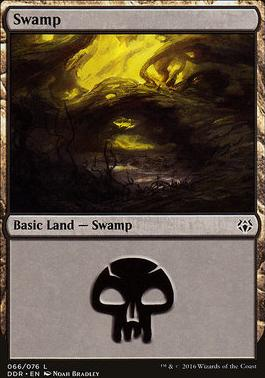 Duel Decks: Nissa Vs. Ob Nixilis: Swamp (66 E)