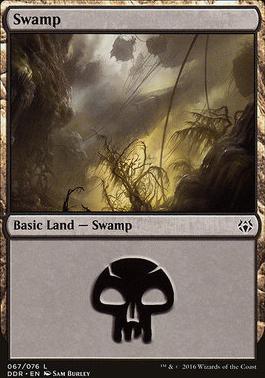 Duel Decks: Nissa Vs. Ob Nixilis: Swamp (67 A)
