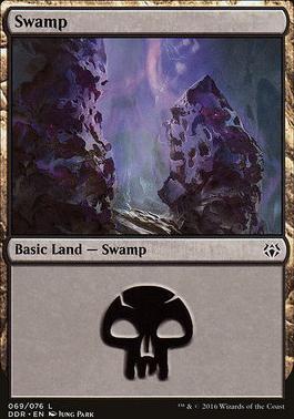 Duel Decks: Nissa Vs. Ob Nixilis: Swamp (69 C)