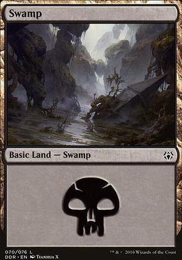 Duel Decks: Nissa Vs. Ob Nixilis: Swamp (70 D)