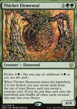 Duel Decks: Nissa Vs. Ob Nixilis: Thicket Elemental