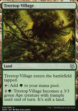 Duel Decks: Nissa Vs. Ob Nixilis: Treetop Village