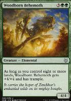 Duel Decks: Nissa Vs. Ob Nixilis: Woodborn Behemoth