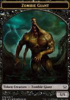 Duel Decks: Nissa Vs. Ob Nixilis: Zombie Giant Token