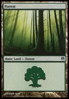 Duel Decks: Phyrexia Vs. The Coalition: Forest (70 A)