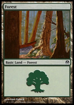 Duel Decks: Phyrexia Vs. The Coalition: Forest (71 B)