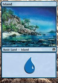 Duel Decks: Phyrexia Vs. The Coalition: Island (68 A)