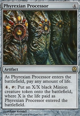Duel Decks: Phyrexia Vs. The Coalition: Phyrexian Processor