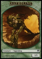 Duel Decks: Phyrexia Vs. The Coalition: Saproling Token