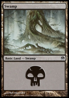 Duel Decks: Phyrexia Vs. The Coalition: Swamp (32 A)