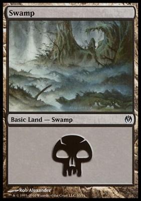 Duel Decks: Phyrexia Vs. The Coalition: Swamp (33 B)